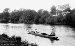 Caversham, St Peter's Church From The River Thames 1913