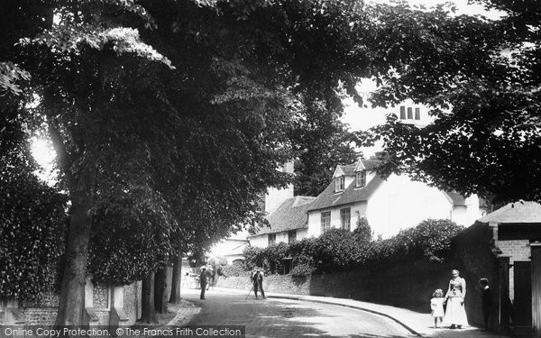 Caversham, St Peter's Hill 1908