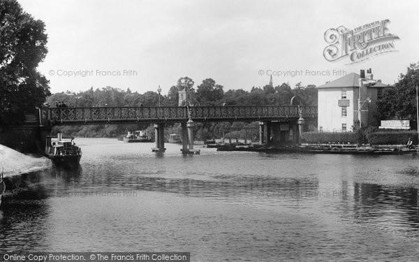 Photo of Caversham, The Bridge 1904