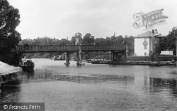 Caversham, The Bridge 1904