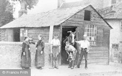 Caversham, The Forge, Church Road c.1890