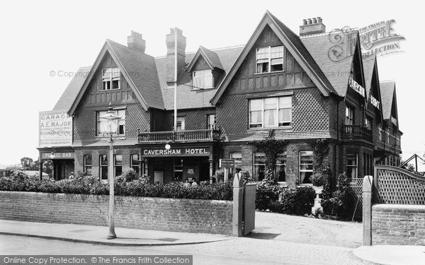 Photo of Caversham, The Hotel 1908
