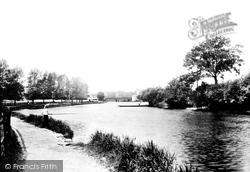 Caversham, The River Thames 1890