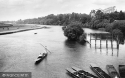 Caversham, View From Caversham Bridge 1908