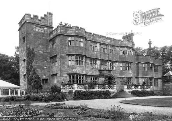 Caverswall, the Castle c1955