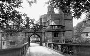Caverswall, the Castle Gateway c1940