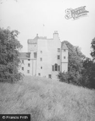 Cawdor, Kilravock Castle From West 1952
