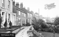 Cawood, River Walk c.1955