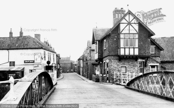 Photo of Cawood, The Bridge c.1955