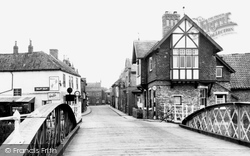 Cawood, The Bridge c.1955