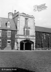 Cawood, The Castle 1952