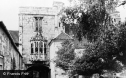 Cawood, The Castle c.1955