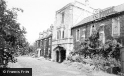 Cawood, The Castle c.1960