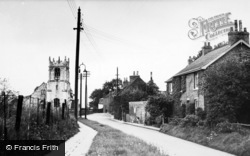 Cawood, The Church c.1955