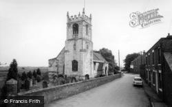 Cawood, The Parish Church c.1960
