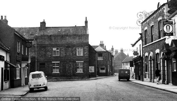 Photo of Cawood, The Square c.1960