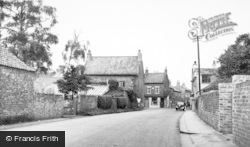 Cawood, Thorpe Lane c.1955