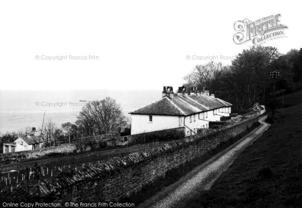 Cawsand, Coastguard Cottages 1949
