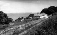 Cawsand, Coastguard Cottages c.1955