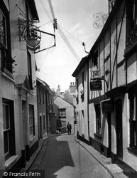 Cawsand, Criterion Hotel And Old Ship Inn 1955