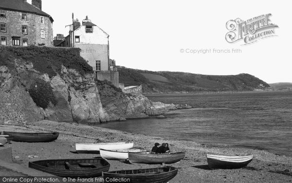 Photo of Cawsand, the Beach c1955, ref. c53026