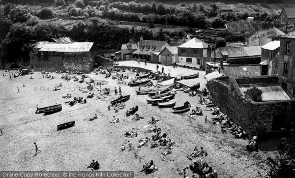 Photo of Cawsand, The Beach c.1955