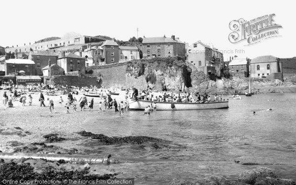 Photo of Cawsand, the Beach c1955, ref. c53054