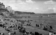 Cawsand, The Beach c.1955