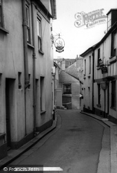 Cawsand, The Old Ship And Criterion Hotel c.1955