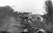 Cawsand, The Town From Torpoint Road c.1955