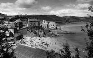 Cawsand, View From The Cliffs c.1955
