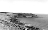 Cawsand, Whitsand Bay and Rame Head c1955