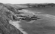 Cawsand, Whitsand Bay c.1955