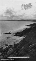 Cawsand, Whitsand Bay Looking West c.1955