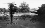 Cawthorne, Cannon Hall Gardens c.1955