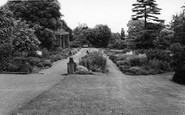 Cawthorne, Cannon Hall Gardens c.1960
