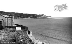 The Pumping Station c.1960, Cayton Bay