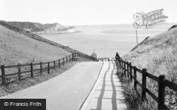 The Road To The Beach c.1960, Cayton Bay