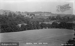 Cefn Mawr, General View c.1953