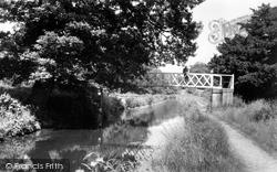 Cefn Mawr, The Canal Bridge c.1955