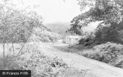 Ceinws, Corris Caravan Park c.1960