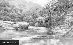 Ceinws, The River c.1960