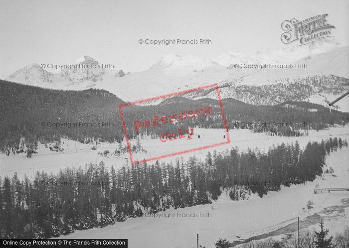 Photo of Celerina, The Mountains c.1937