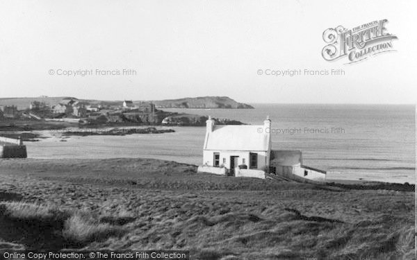 Photo of Cemaes Bay, And Headland c.1936