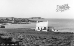 Cemaes Bay, And Headland c.1936