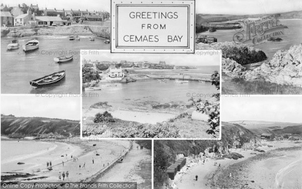Photo of Cemaes Bay, Composite c.1955
