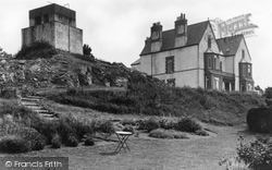 Cemaes Bay, Gadlys Hotel And Water Tower 1936