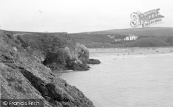 Cemaes Bay, Headland And Beach From The Point 1936