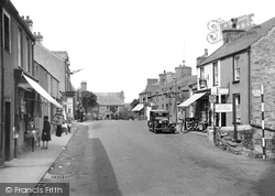 Cemaes Bay, High Street 1936