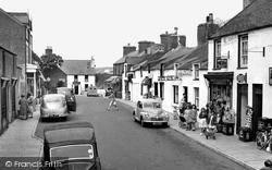 Cemaes Bay, High Street c.1955